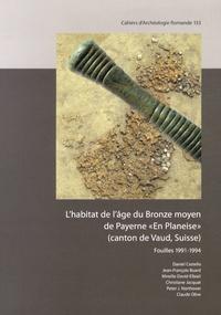 """Daniel Castella - L'habitat de l'âge du Bronze moyen de Payerne """"En Planeise"""" (canton de Vaud, Suisse)."""