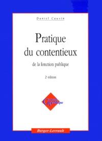 PRATIQUE DU CONTENTIEUX DE LA FONCTION PUBLIQUE. 2ème édition.pdf