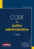 Daniel Chabanol - Code de justice administrative.