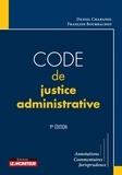 Daniel Chabanol et François Bourrachot - Code de justice administrative.