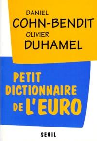 Petit dictionnaire de l'euro - Daniel Cohn-Bendit | Showmesound.org