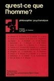 Daniel CoppietersdeGibson - Qu'est-ce que l'homme? - Philosophie / psychanalyse.