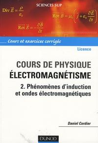 Cours de physique pour la licence, Electromagnétisme - Tome 2, Phénomènes dinduction et ondes électromagnétiques.pdf