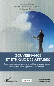 Gouvernance et éthique des affaires - Recommandations pour une meilleure gouvernance en entreprises moyennes, PME & PMI.pdf