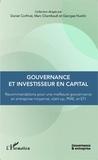 Daniel Corfmat et Marc Chambault - Gouvernance et investisseur en capital - Recommandations pour une meilleure gouvernance en entreprise moyenne, PME et PMI.