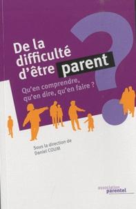 Rhonealpesinfo.fr De la difficulté d'être parent - Qu'en comprendre, qu'en dire, qu'en faire ? Image