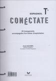Daniel Descomps - Espagnol Tle Conéctate - 20 transparents accompagnés d'un fichier d'exploitation.