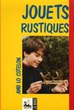 Daniel Descomps et Marcèu Esquieu - Jouets rustiques - Amb lo cotelon, édition bilingue français-occitan.