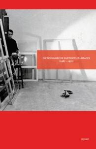 Daniel Dezeuze - Dictionnaire de supports/surfaces (1967-1972).