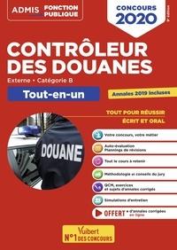 Concours contrôleur des douanes externe, catégorie B- Tout-en-un - Daniel Doutreluingne |