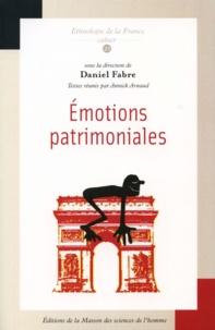 Daniel Fabre - Emotions patrimoniales.