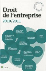 Daniel Fasquelle et Jean-Pierre Bertrel - Droit de l'entreprise - L'essentiel pour comprendre le droit.