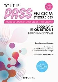 Daniel Fredon et Magali DÉCOMBE VASSET - Tout le PASS en QCM et exercices 2020-2021 - Tronc commun : UE1, UE2, UE3, UE4, UE5, UE6, UE7.