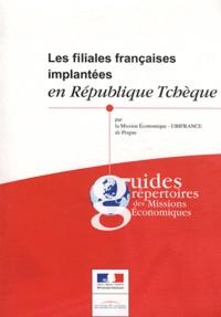 Daniel Gallissaires - Les filiales françaises implantées en République tchèque.