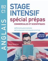 Daniel Gandrillon - Anglais B2 C1 - Stage intensif spécial prépas commerciales et scientifiques.