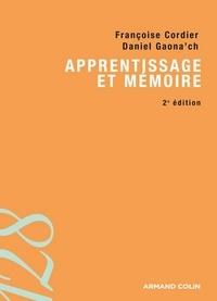 Daniel Gaonac'h et Françoise Cordier - Apprentissage et mémoire.