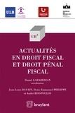 Daniel Garabedian - Actualités en droit fiscal et droit pénal fiscal.