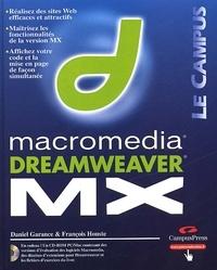 Daniel Garance et François Houste - Dreamweaver MX. 1 Cédérom