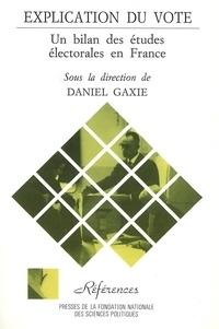 Daniel Gaxie - .