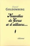 Daniel Goldenberg - Nouvelles de Corse et d'ailleurs....