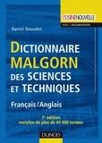 Daniel Gouadec - Dictionnaire Malgorn des sciences et techniques français-anglais.