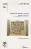 Daniel Gricourt - Cernunnos, le dioscure sauvage - Recherches comparatives sur la divinité dionysiaque des Celtes.