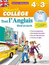 Tout l'anglais 4e-3e- Oral et écrit - Daniel Guimberteau |