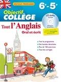 Daniel Guimberteau - Tout l'anglais 6e-5e - Oral et écrit. 1 CD audio
