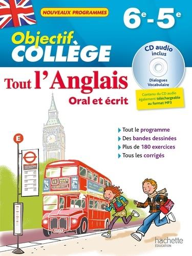 Tout L Anglais 6e 5e Oral Et Ecrit De Daniel Guimberteau Grand Format Livre Decitre