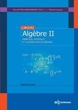 Daniel Guin - Algèbre - Tome 2, Anneaux, modules et algèbre multilinéaire.
