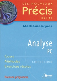 Daniel Guinin et Bernard Joppin - Analyse PC.