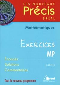 Daniel Guinin - Mathématiques Exercices MP.