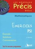 Daniel Guinin - Mathématiques PSI - Exercices.