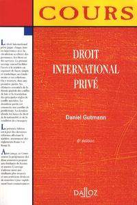 Daniel Gutmann - Droit international privé.