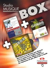 Daniel Ichbiah - Studio Musique Box Coffret 2 volumes : Sonar Cakewalk 2.0 ; Musique électronique. 3 Cédérom