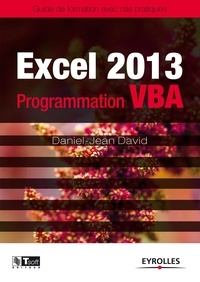 Daniel-Jean David - Excel 2013 - Programmation VBA.