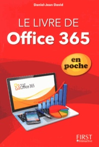 Daniel-Jean David - Le livre d'Office 365 en poche.