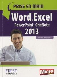 Daniel-Jean David - Word, Excel, Powerpoint, Onenote 2013.