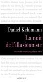 Daniel Kehlmann - La nuit de l'illusionniste.