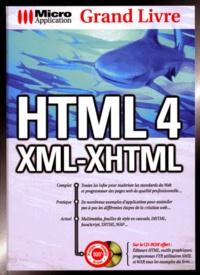 HTML 4. XML-XHTML, Avec CD-Rom - Daniel Koch | Showmesound.org