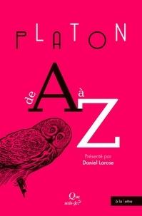 Daniel Larose - Platon de A à Z.