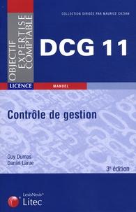 Daniel Larue et Guy Dumas - Controle de gestion DCG11.