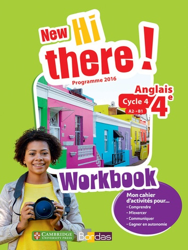 Anglais 4e A2 B1 New Hi There Workbook Grand Format