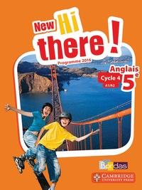 Anglais 5e A1/A2 New Hi there!- Programme 2016 - Daniel Leclercq pdf epub