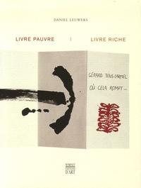 Daniel Leuwers - Livre pauvre, livre riche.