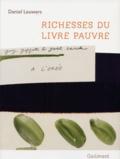 Daniel Leuwers - Richesses du livre pauvre.