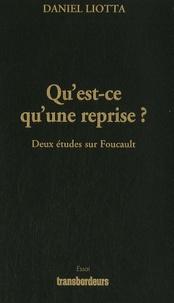 Quest-ce quune reprise ? - Deux études sur Foucault.pdf