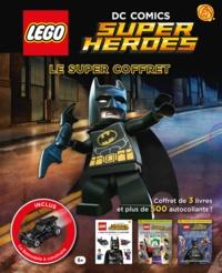 Daniel Lipkowitz et Julia March - DC Comics Super Heroes - Le super coffret 3 livres LEGO et la Batmobile à construire.