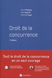 Daniel Mainguy et Malo Depincé - Droit de la concurrence.