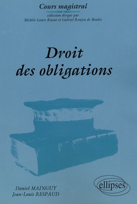 Daniel Mainguy - Droit des obligations.